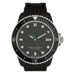 Saola Watch Black